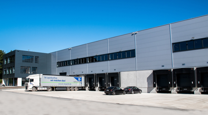 Logistikzentrum in Betrieb