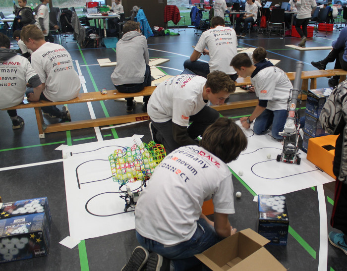 RoboRAVE in Action