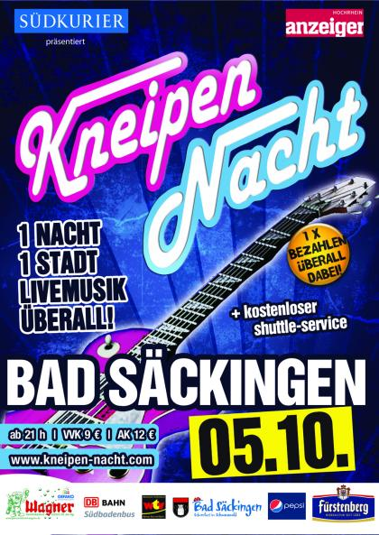 Plakat Bad Säckingen